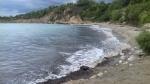 Paralia Trapezaki or table beach on Kefalonia, Greece