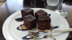 Sweets after coffee in Argostoli, Greece