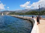 The pier of Argostoli, Greece