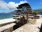 The water wheel of Katavothres, Greece