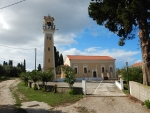 Church in Lakithra, Greece