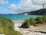 Beach at the airport of Kefalonia