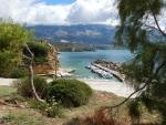 The port of Pessada, Kefalonia, Greece
