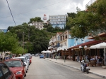 Street in Poros, Kefalonia, Greece