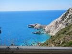 The sea at Petani beach, Kefalonia, Greece