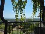 View from the terrace in Mazakarata, Greece