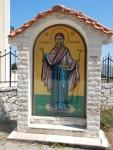 At the Monastery of the Virgin of Themata, Pilaros, Greece