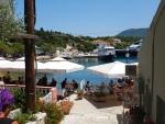 Terrace in Fiskardo, Greece