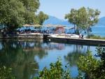 Karavomilis lake, Kefalonia, Greece