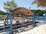 Waterwheel at the Karavomilis lake, Kefalonia, Greece
