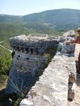 Pretty steep, the Venetian castle St. George, Greece