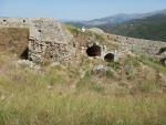 The Venetian castle St. George, Kefalonia, Greece