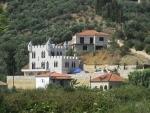 Fantasy castle at Navarino Beach, Greece