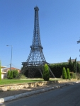 Mini-Eiffel Tower in Filiatra, Greece