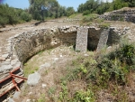 Remains of a grave, Peristeria, Greece