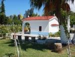 Small chapel in Mesolongi, Greece