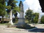Monument to Lord Byron in Mesolongi, Greece