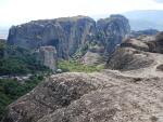 The Roussanou monastery, Meteora, Greece