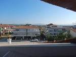 View from our balcony in Paralia Dionysiou