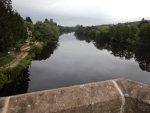 North Tyne river in Chollerford, Scotland