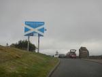 We enter Scotland, Scotland