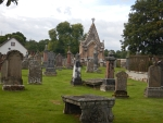 Kinkardine cemetery near Ardgay, Scotland