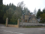 A gatelodge near Forres