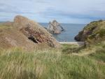 Bow Fiddle Rock at Portknockie, Scotland
