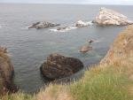 The sea at Portknockie, Scotland