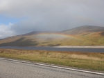 Rainbow at Loch Glascarnoch, Scotland