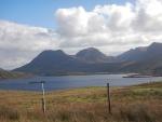 Landscape at Loch Bad a' Ghaill, Scotland