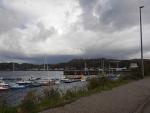 The harbor of Lochinver, Scotland