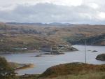 Loch Duart in the Highlands, Scotland