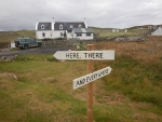 Directions in Oldshoremore, Scotland