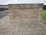 The Roman Bridgeness memorial stone, Scotland