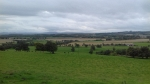 View from the house of the Binns, Scotland