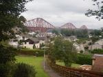 The Forth Bridge at Queensferry, Scotland