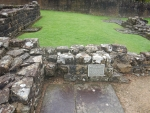 Roman baths in Bearsden