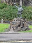 Statue of Rob Roy in Stirling, Scotland