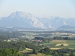 View of the Alps from Wolfsegg am Hausruck in Austria, Austria