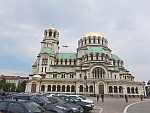 The Aleksandar Nevski cathedral in Sofia