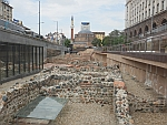 The old city of Serdika in Sofia has been partially excavated