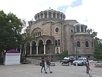The Sveta Nedelya cathedral in Sofia
