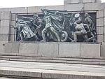 War memorial in the Knyazheska Garden, Sofia, Bulgaria
