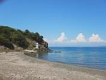 Chapel by the sea at Xyna on Kassandra, Greece