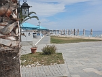 There are still few tourists in Nikiti, Chalkidiki