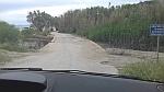 Damaged road at Theotokos beach, Pelion, Greece