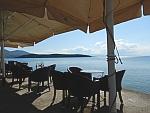 Along the sea in Milina, the Pelion, Greece