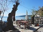The coast at Milina on the Pelion peninsula, Greece