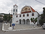 The St. George church in Marmari on Evia